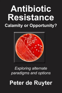'Antibiotic Resistance' eBook Front Cover Image-by Peter de Ruyter